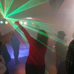 Die Lichtshow kommt bei jeder Party an